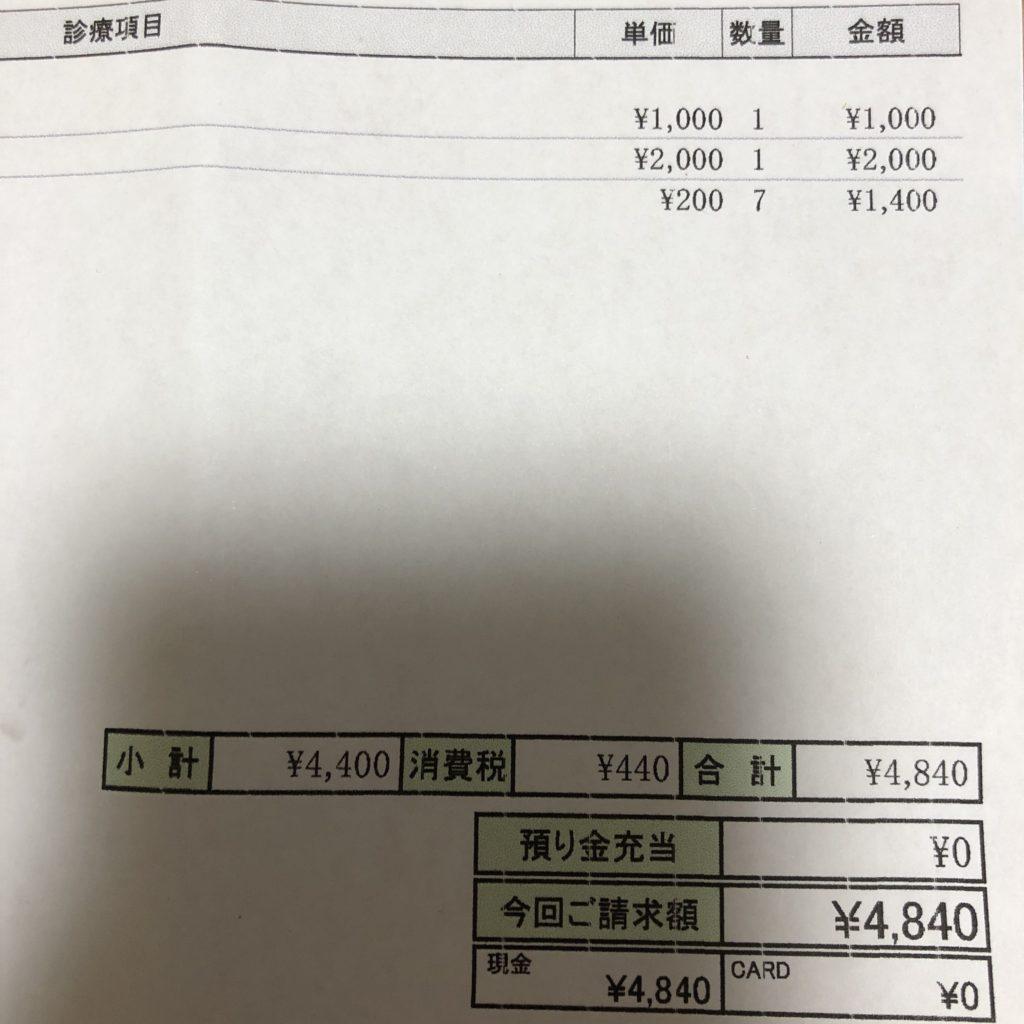 動物病院の費用